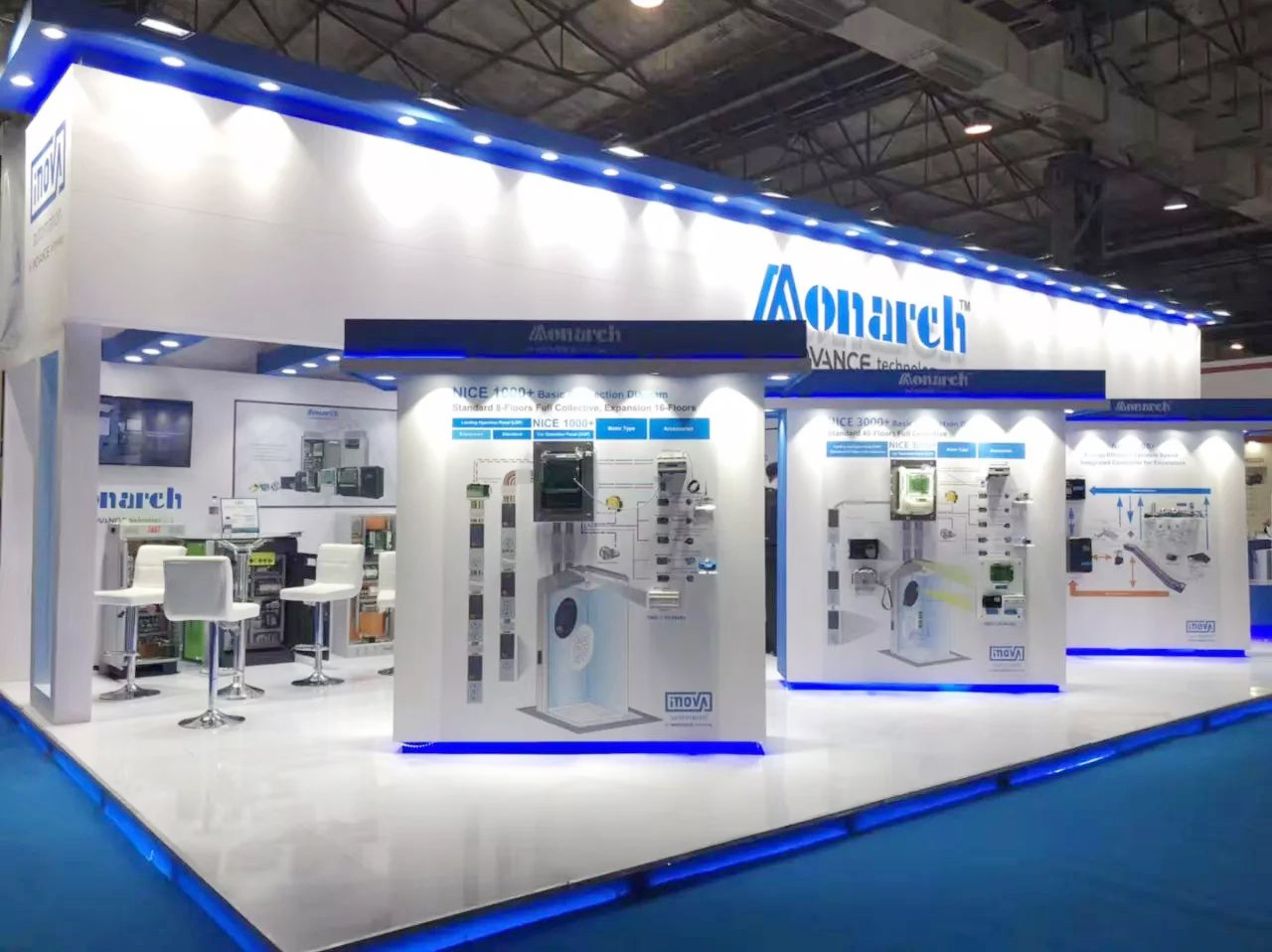 Monarch exhibits at IEE India 2018